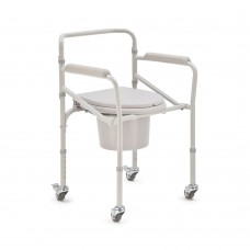 Кресло-стул с санитарным оснащением (на колесах)
