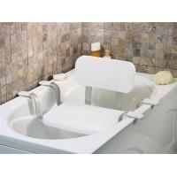 Сиденье для ванны со спинкой(с повышенной грузоподъемностью). Торговая марка «PRIMANOVA» Модели: М-КV25