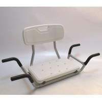 Сиденье со спинкой для ванны. Модели КМ 28.0;  КМ 28.1 (Изготовитель: ООО «РЕАБИЛИТИК», Россия, Москва)