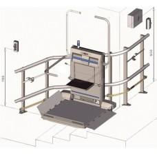 Подъемная платформа наклонного перемещения. Модель: СРМ300 (Чешская Республика)