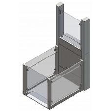 Подъемная платформа вертикального перемещения. Модель: RB150 (Литовская Республика)